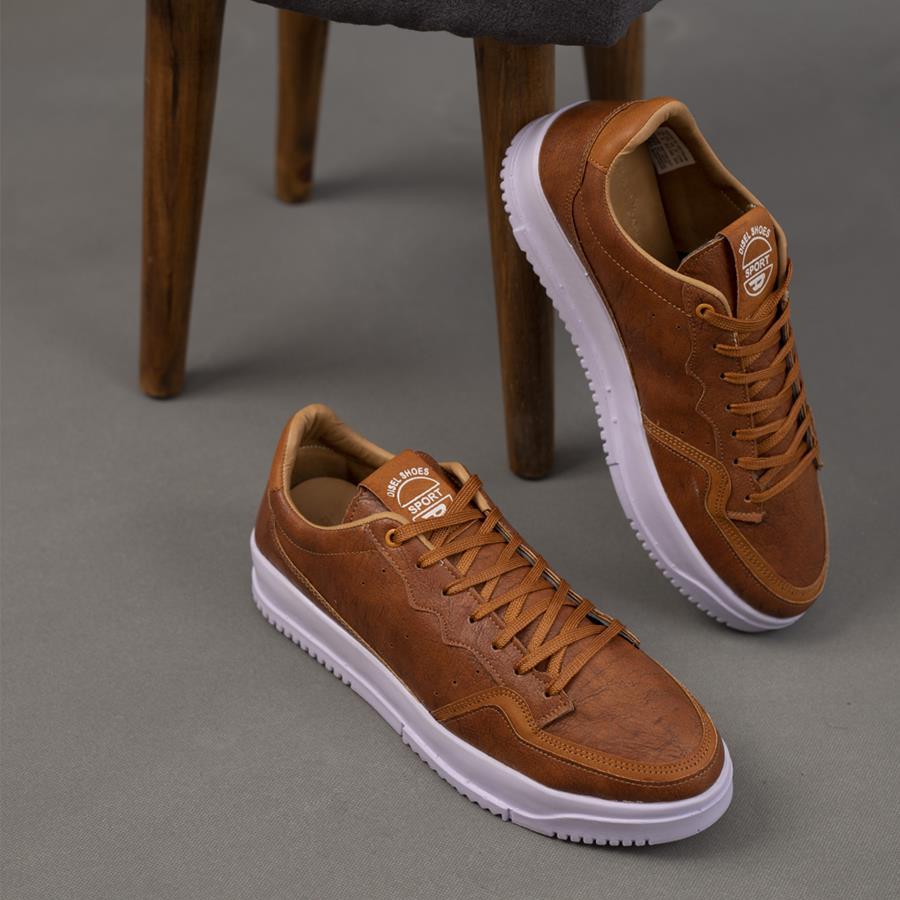 کفش مردانه Diesel مدل 1340_رنگ قهوه ای