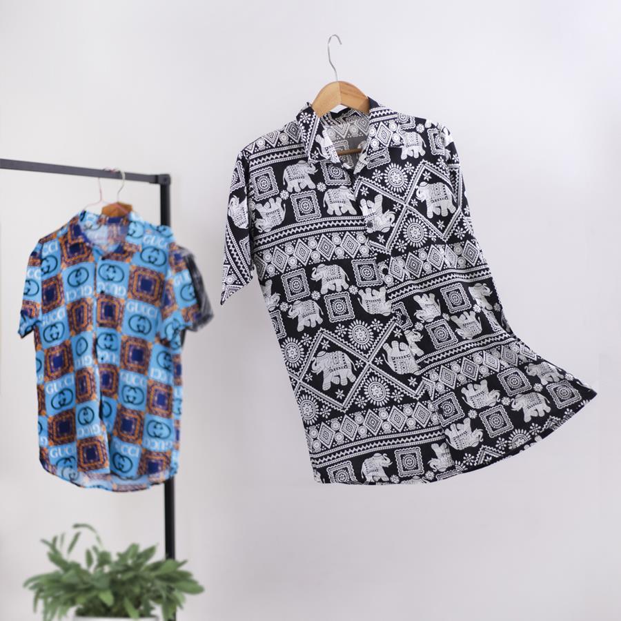 پیراهن هاواییTailor مدل 1342_رنگ مشکی