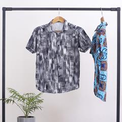 پیراهن مردانه هاوایی Colorpup مدل 1344
