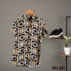 پیراهن هاوایی Rina مدل 1365