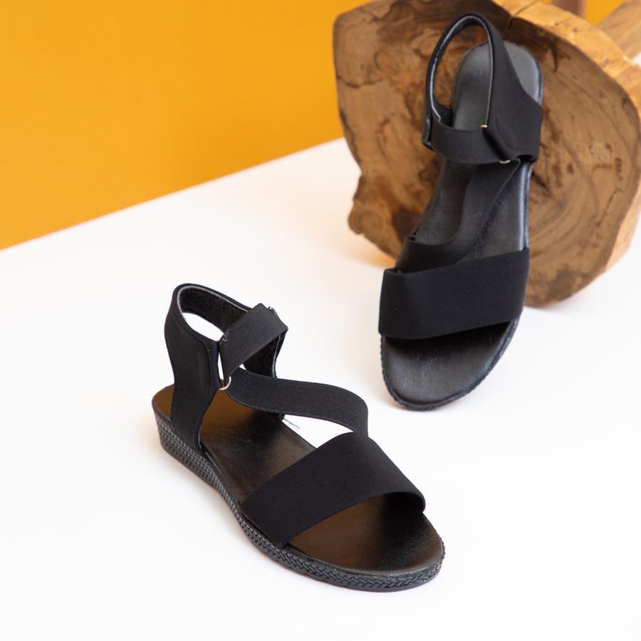 کفش صندل زنانه Kando مدل 1398_رنگ مشکی
