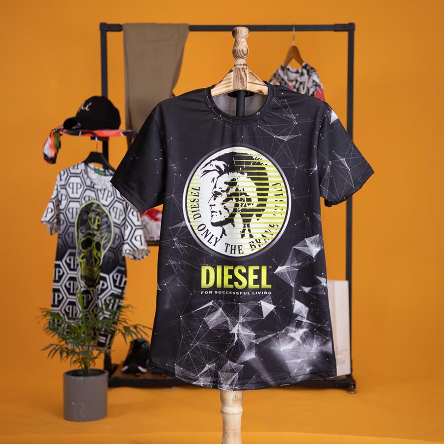 تیشرت مردانه Diesel مدل 1402_رنگ مشکی