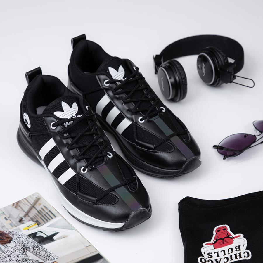 کفش مردانه Adinar مدل 1413_رنگ مشکی