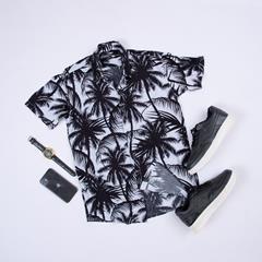 پیراهن هاوایی Morino مدل 1456