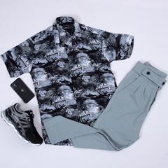 پیراهن هاوایی Naderz مدل 1457
