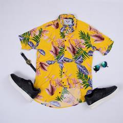 پیراهن هاوایی Eldan مدل 1469
