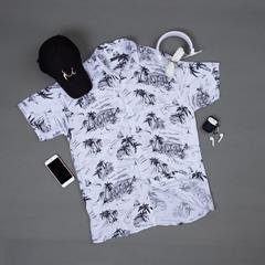پیراهن هاوایی Reman مدل 1471