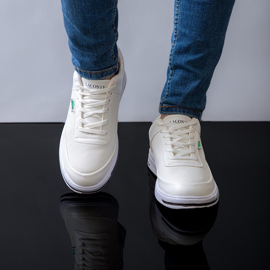 کفش مردانه Parva مدل 1482_رنگ سفید