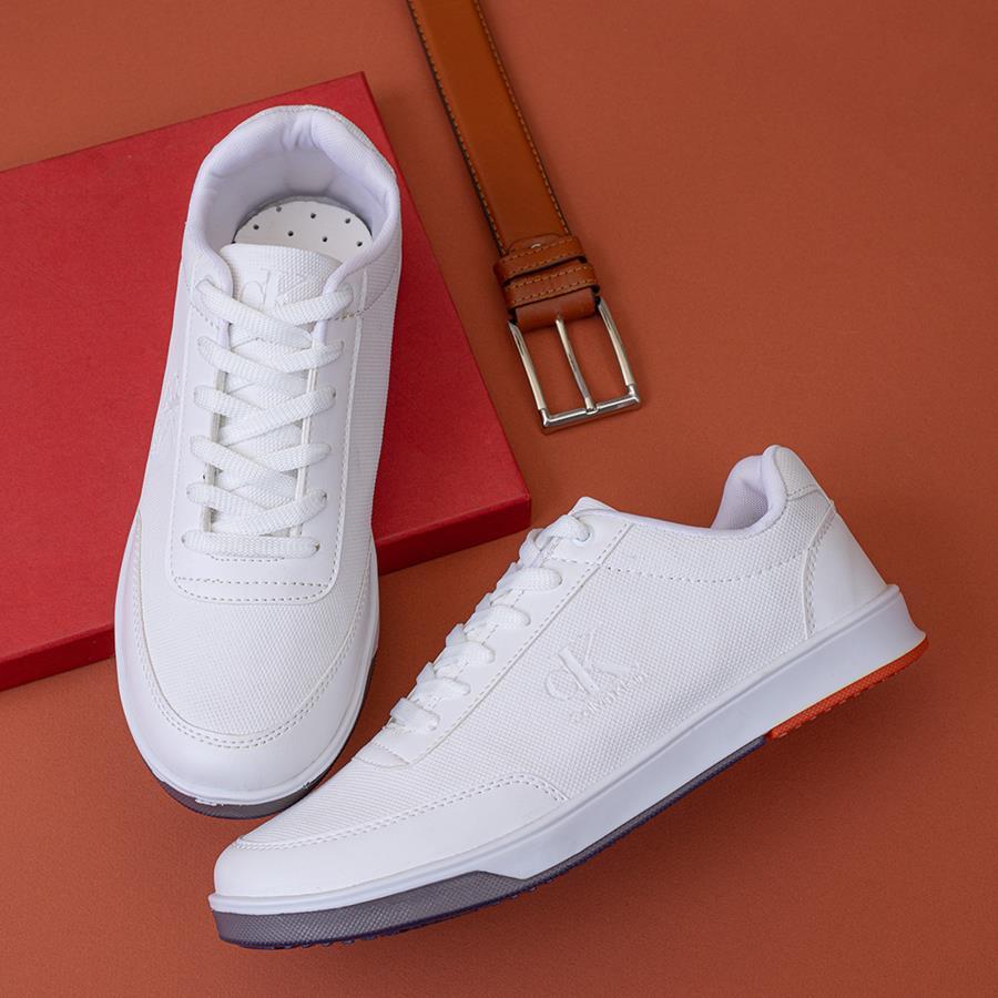 کفش مردانه Kamelia مدل 1501_رنگ سفید