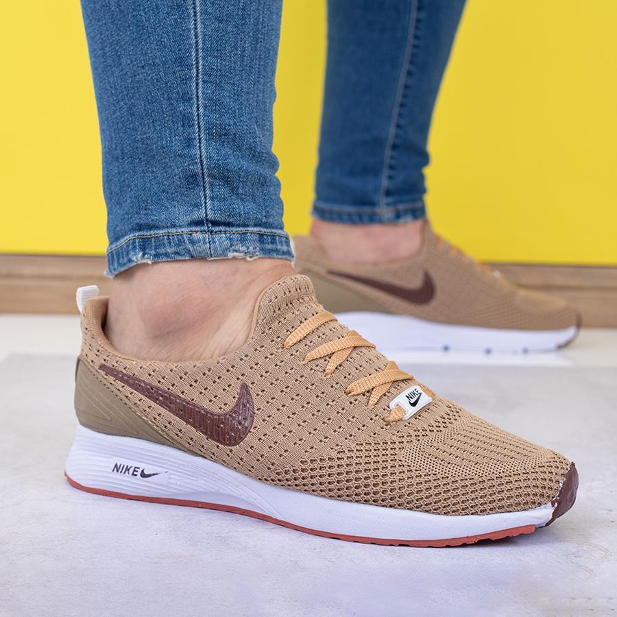 کفش مردانه Solan مدل 1502_رنگ کرم سیر