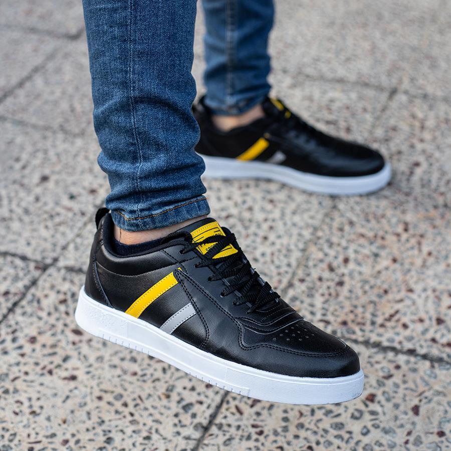 کفش مردانه Bonjo مدل 1518_رنگ مشکی