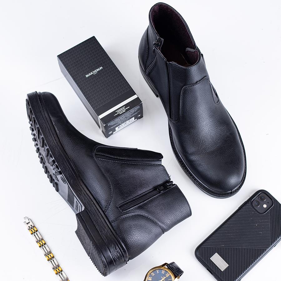 کفش نیم بوت مردانه Deko مدل 1521_رنگ مشکی