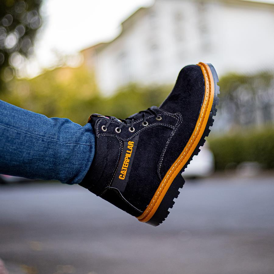 کفش نیم بوت مردانه KaterpilaBlack مدل 1553_رنگ مشکی