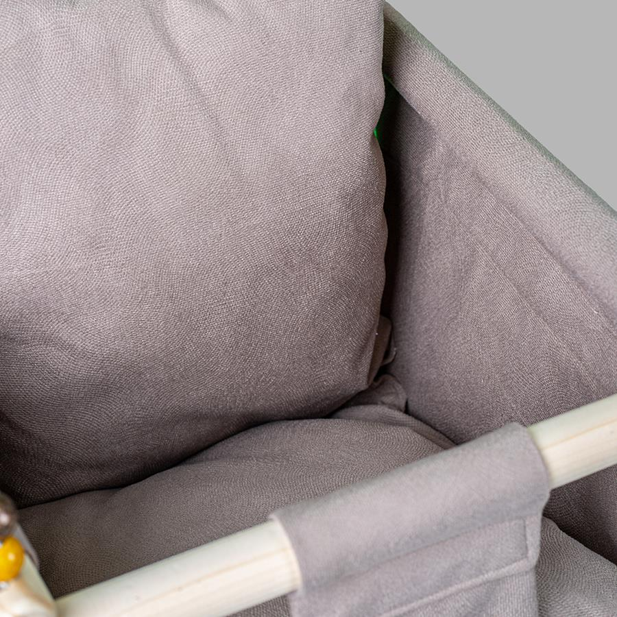 تاب کودک BabiNaz مدل 1555_رنگ طوسی